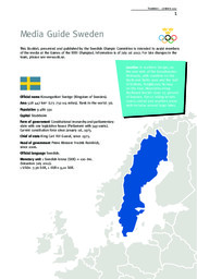 Swedish Olympic team : London 2012 / Sveriges Olympiska Kommitté   Sveriges Olympiska Kommitté