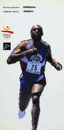 Athlétisme : brochure explicative = Athletics : explanatory booklet / ed. COOB'92 | Jeux olympiques d'été. Comité d'organisation. (25, 1992, Barcelona)
