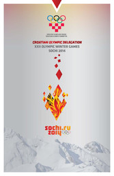 Croatian Olympic delegation : XXII Olympic Winter Games Sochi 2014 / Croatian Olympic Committee ; ed. Radica Jurkin | Jurkin, Radica