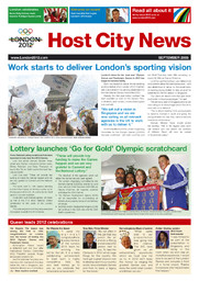 Host city news : the latest news from London 2012 / London 2012 | Jeux olympiques d'été. Comité d'organisation. 30, 2012, London
