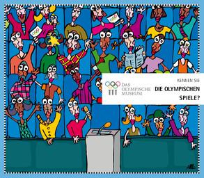 Kennen Sie die Olympischen Spiele ? / ein Dokument des Olympischen Museums, Abteilung für Bildung und Kultur ; Anne Chevalley ; ill. d'Albin Christen   Christen, Albin