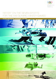 Report on the seven sports for the XXIII Olympic Winter Games / Olympic Programme Commission | International Olympic Committee. Olympic Programme Commission