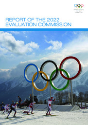 Report of the 2022 Evaluation Commission / International Olympic Committee | International Olympic Committee. Evaluation Commission for the 2022 Summer Olympic Games