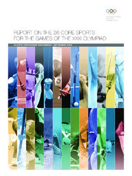 Report on the 26 core sports for the Games of the XXXI Olympiad / Olympic Programme Commission | Comité international olympique. Commission du programme olympique
