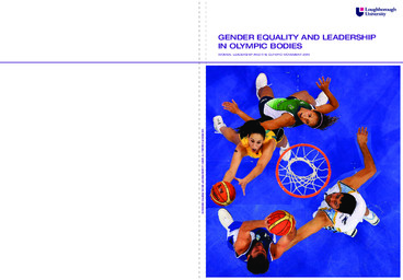 Gender equality and leadership in olympic bodies : women, leadership and the Olympic Movement 2010 / commissioned by the IOC women and sport Commission | Comité international olympique. Commission femme et sport