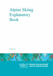 Explanatory books : Sochi 2014 Paralympic Games / Organizing Committee of XXII Olympic Winter Games and XI Paralympic Winter Games 2014 in Sochi | Olympic Winter Games. Organizing Committee. 22, 2014, Sochi