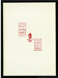 Rapport officiel des XVIes Jeux olympiques d'hiver d'Albertville et de la Savoie = Official report of the XVI Olympic Winter Games of Albertville and Savoie | Jeux olympiques d'hiver. Comité d'organisation. (16, 1992, Albertville)