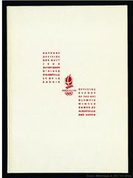 Rapport officiel des XVIes Jeux olympiques d'hiver d'Albertville et de la Savoie = Official report of the XVI Olympic Winter Games of Albertville and Savoie | Olympic Winter Games. Organizing Committee. 16, 1992, Albertville