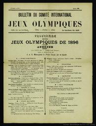 Bulletin du Comité international des Jeux olympiques |