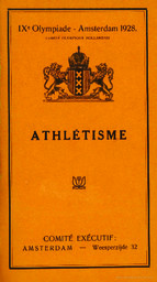 IXe olympiade Amsterdam 1928 | Summer Olympic Games. Organizing Committee. 9, 1928, Amsterdam
