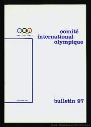 Bulletin du Comité International Olympique | Comité international olympique