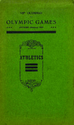 Olympic Games Antwerp (Belgium) 1920 VIIth Olympiad : General programme / Executive Committee of the VIIth Olympiad | Summer Olympic Games. Organizing Committee. 7, 1920, Anvers