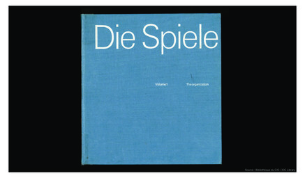 Die Spiele : the official report of the Organizing Committtee for the Games of the XXth Olympiad Munich 1972 |