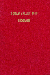 VIII Olympic Winter Games Squaw Valley, California, USA, Feb. 18-28 1960 : official daily program / Organizing Committee VIII Olympic Winter Games | Jeux olympiques d'hiver. Comité d'organisation. 8, 1960, Squaw Valley