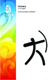 Official report of the Beijing 2008 Olympic Games / Beijing Organizing Committee for the Games of the XXIX Olympiad |