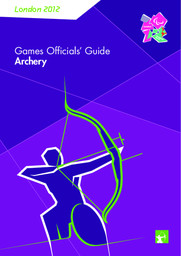 Games Officials' Guide : London 2012 Paralympic Games / The London Organising Committee of the Olympic Games and Paralympic Games | Jeux olympiques d'été. Comité d'organisation. (30, 2012, London)