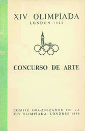 XIV olimpíada Londres 1948 / Comité organizador de la XIV olimpíada, Londres 1948   Jeux olympiques d'été. Comité d'organisation. 14, 1948, London