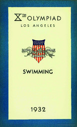 Xth Olympiad Los Angeles 1932 / Xth Olympiade Committee of the Games of Los Angeles 1932 | Summer Olympic Games. Organizing Committee. 10, 1932, Los Angeles