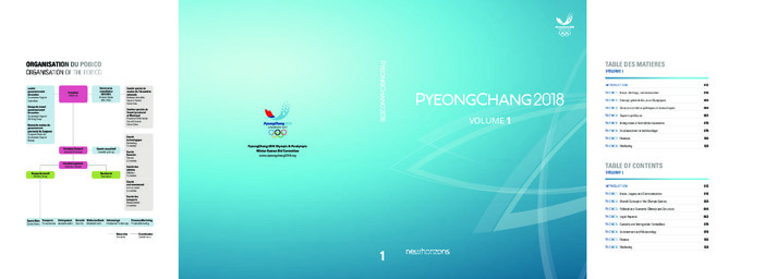Olympic World Library Pyeongchang 2018 New Horizons Pyeongchang 2018 Olympic And Paralympic Winter Games Bid Committee Detail