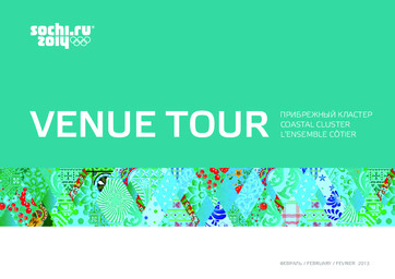 Venue tour / Organizing Committee of XXII Olympic Winter Games and XI Paralympic Winter Games in Sochi | Jeux olympiques d'hiver. Comité d'organisation. (22, 2014, Sochi)