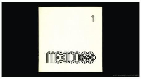 Mexico 68 / Comité organisateur des Jeux de la XIX olympiade | Summer Olympic Games. Organizing Committee. 19, 1968, Mexico