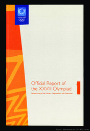 Official report of the XXVIII Olympiad : Athens 2004 / Athens 2004 Organising Committee for the Olympic Games ; ed. Efharis Skarveli, Isabel Zervos |
