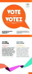 IOC Athletes' Commission Election Manual, London 2012 = Manuel pour les élections à la commission des athlètes du CIO, Londres 2012 / International Olympic Committee, IOC athletes' commission | Comité international olympique. Commission des athlètes
