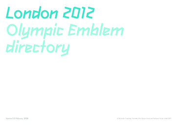 London 2012 Olympic emblem directory / The London Organising Committee of the Olympic Games and Paralympic Games Limited | Summer Olympic Games. Organizing Committee. 30, 2012, London