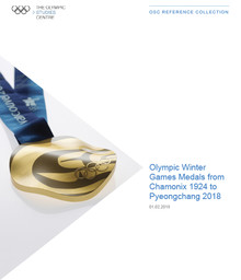 Olympic Winter Games medals from Chamonix 1924 to PyeongChang 2018 / The Olympic Studies Centre | The Olympic Studies Centre
