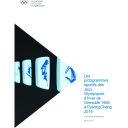 Les pictogrammes sportifs des Jeux Olympiques d'hiver de Grenoble 1968 à PyeongChang 2018 / Le Centre d'Etudes Olympiques | The Olympic Studies Centre