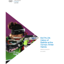 History of sports at the Winter Olympic Games / International Olympic Committee, Olympic Studies Centre | Centre d'Études Olympiques (Lausanne)
