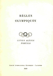 Règles olympiques / [Comité International Olympique] | International Olympic Committee