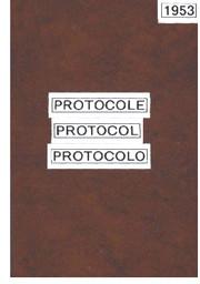 Protocole = Protocol = Protocolo / Comité International Olympique   International Olympic Committee