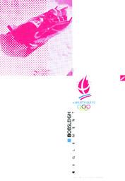 Bobsleigh : règlement = Bobsleigh : regulations / COJO Albertville 92 | Jeux olympiques d'hiver. Comité d'organisation. 16, 1992, Albertville