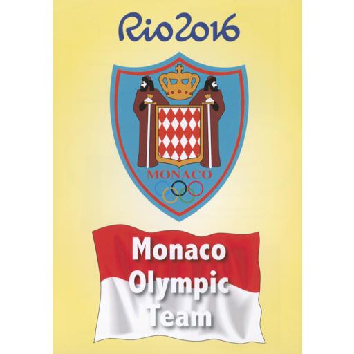 Monaco Olympic team : Rio 2016 / [Monaco Olympic Committee] | Comité olympique monégasque