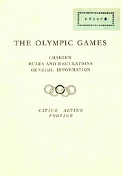 The Olympic Games : charter, rules and regulations, general information / Comité International Olympique | Comité international olympique