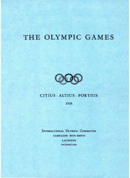 The Olympic Games : fundamental principles, rules and regulations, general information / International Olympic Committee | International Olympic Committee