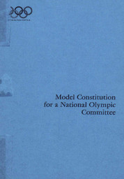Model constitution for a National Olympic Committee / Comité International Olympique | International Olympic Committee