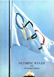 Olympic rules, bye-laws and instructions / [International Olympic Committee] | Comité international olympique