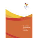 Broadcast  accreditation manual : Rio 2016 Paralympic Games / Rio 2016 Organising Committee for the Olympic and Paralympic Games | Jeux olympiques d'été. Comité d'organisation. 31, 2016, Rio de Janeiro