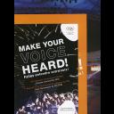 Make your voice heard ! : IOC Athletes' Commission Election Olympic Games Rio 2016 : election manual = Faites entendre votre voix ! : élections à la commission des athlètes du CIO, Jeux Olympiques de Rio 2016 : manuel d'élection / International Olympic Committee, IOC Athletes' Commission | Comité international olympique. Commission des athlètes
