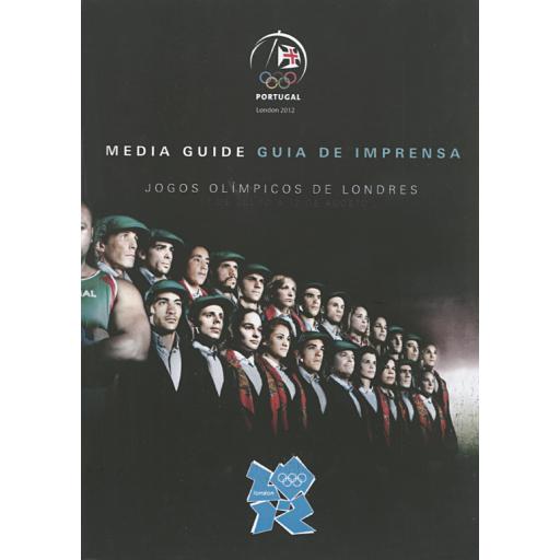 Guia de imprensa : Jogos Olímpicos de Londres, 27 de Julho a 12 de Agosto = Media guide / Comité Olímpico de Portugal | Comité Olímpico de Portugal