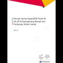 Olympic Games Impact (OGI) study for the 2018 PyeongChang Olympic and Paralympic Winter Games / The PyeongChang Organizing Committee for the 2018 Olympic & Paralympic Winter Games | Jeux olympiques d'hiver. Comité d'organisation. 23, 2018, PyeongChang