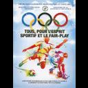 Tous, pour l'esprit sportif et le fair-play / République algérienne démocratique et populaire, Ministère de l'éducation nationale, Ministère de la jeunesse et des sports ; Comité olympique algérien | Comité olympique algérien