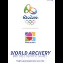 World archery Rio 2016 Olympic Games : press information sheet / World Archery | World Archery Federation