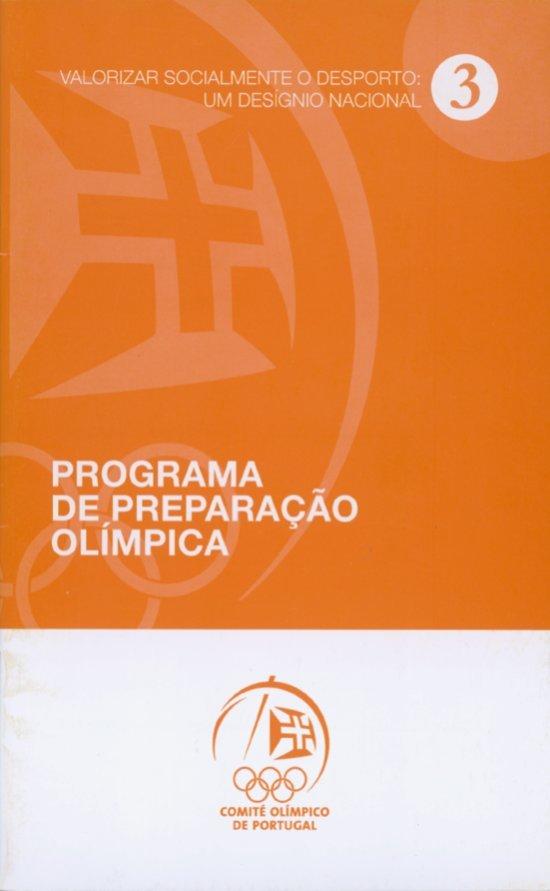 Programa de preparação Olímpica / Comité Olímpico de Portugal   Comité Olímpico de Portugal