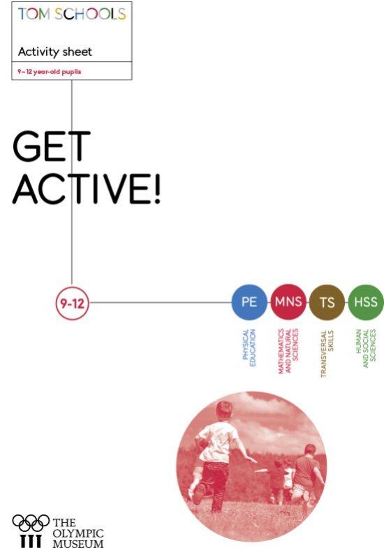 Get active ! : activity sheet : 9-12 year-old pupils / Vincent Brügger | Brügger, Vincent