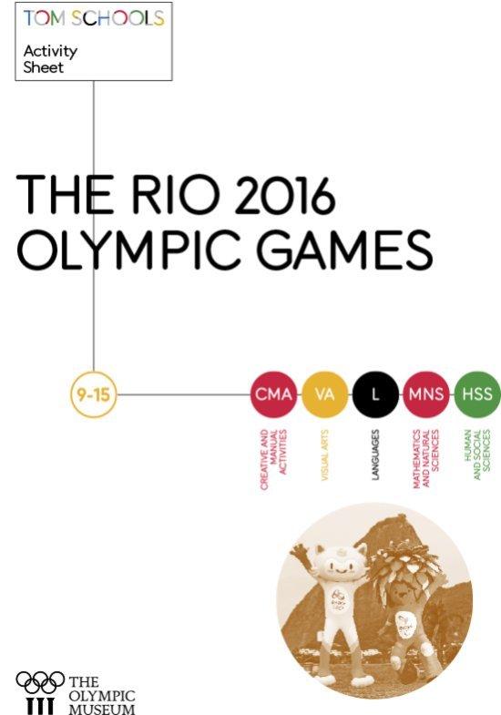 The 2016 Rio Olympic Games : 9-15 / Miranda Larrosa | Larrosa, Miranda