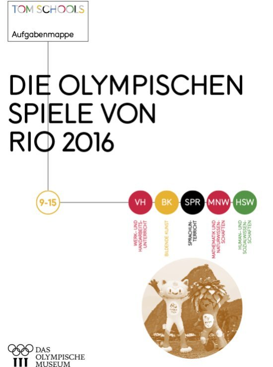 Die Olympischen Spiele von Rio 2016 : 9-15 / Miranda Larrosa | Larrosa, Miranda