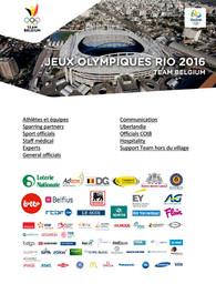 Team Belgium : Jeux Olympiques Rio 2016 / Comité Olympique et Interfédéral Belge  | Comité olympique et interfédéral belge